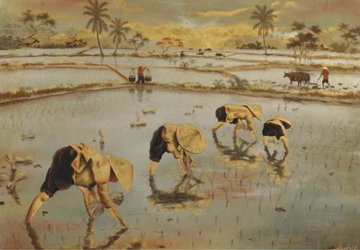Nguyen Thanh Le (Vietnamese, b. 1919)