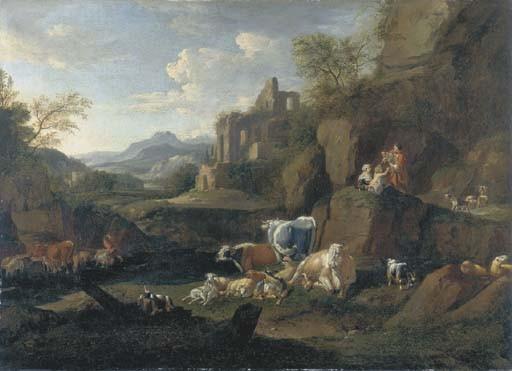 Johann Heinrich Roos (Reipoltskirchen 1631-1685 Frankfurt/Main)