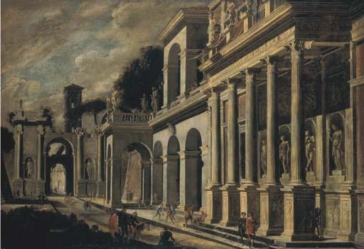 Viviano Codazzi (Bergamo c. 1604-1670 Roma) e Domenico Gargiulo, Micco Spadaro (Napoli 1612-c.