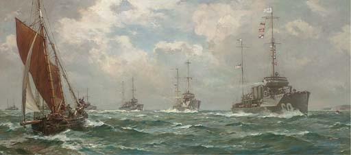 Bernard Finegan Gribble, R.B.A., R.S.M.A. (1873-1962)