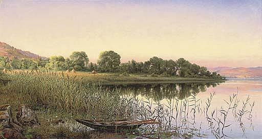 Loch Achray - 'The pleased lake'