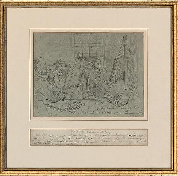 John Burgess, the Younger, A.O.W.S. (1814-1874)