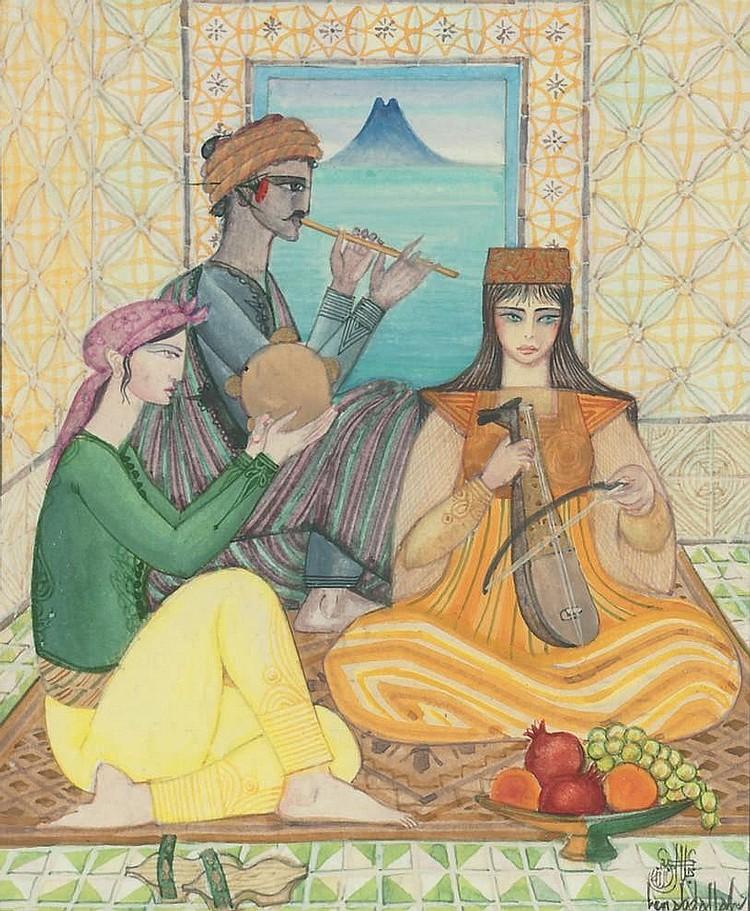 Jellal Ben Abdallah (Tunisian, b.1921)