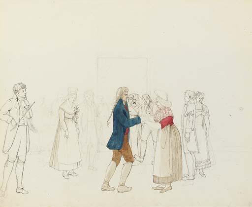 Attribué à Rodolphe Töpffer (1799-1846)