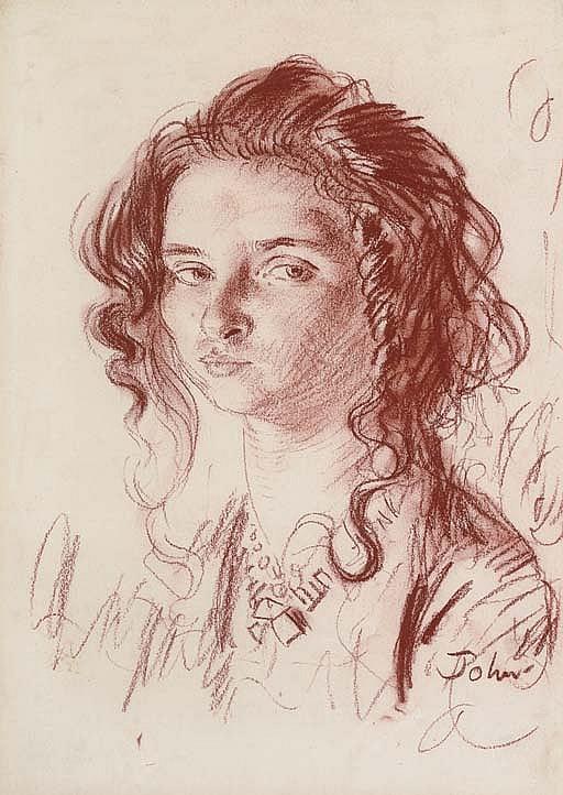 Portrait of Dorelia,  circa  1904