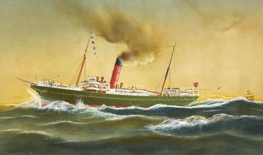 ARTHUR VICTOR GREGORY (1867-1959)