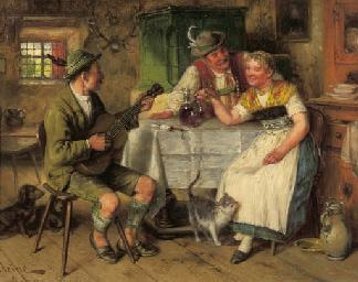 Johann Adalbert Heine (German, b. 1850)