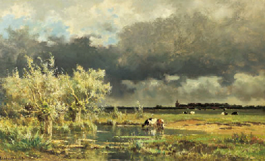 Edmond de Schampheleer (Belgian, 1824-1899)