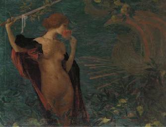 Edmond-Fran‡ois Aman-Jean (French, 1860-1936)