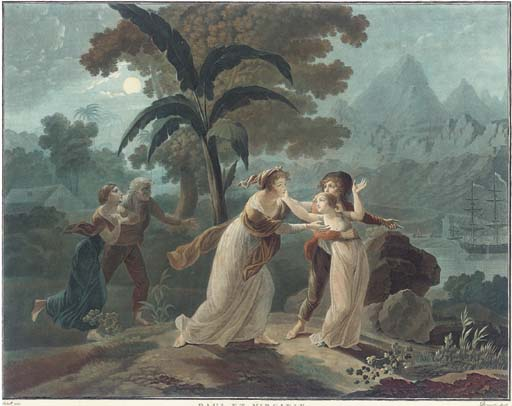 Charles-Melchior Descourtis (1753-1820)