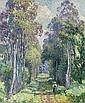 Pierrefonds, la promenade en forêt, Henri Lebasque, Click for value