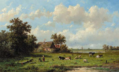 Anthonie Jacobus van Wijngaerdt (Dutch, 1808-1887)