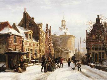 Cornelis Springer (Dutch, 1817-1891)