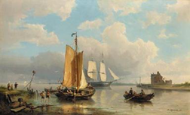 Pieter Cornelis Dommershuijzen (Dutch, 1834-1908)