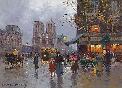 Notre Dame, Place Saint Michel