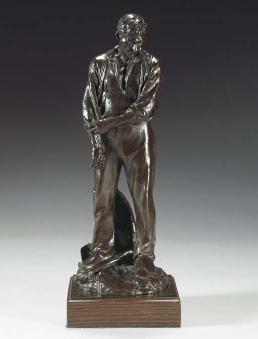 Cast from a model by Aimé Jules Dalou (French, 1838-1902), early 20th Century