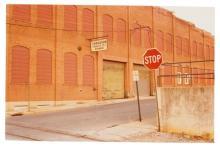 WILLIAM EGGLESTON (B. 1939) Untitled, (Stop Sign), c. 1980 chro