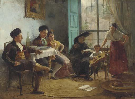 Juan Antonio Gonzalez (Spanish, 1842-1914)