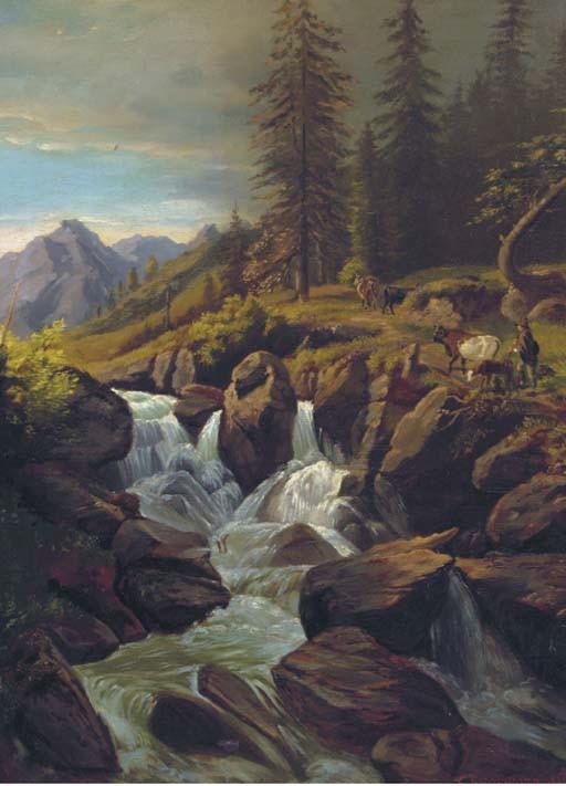 Karl Christiaan Sparmann (German, 1805-1864)