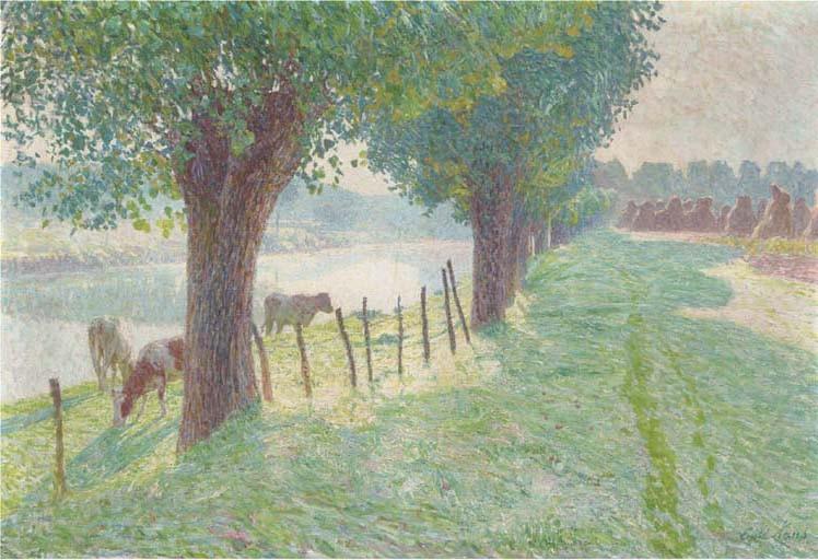 Emile Claus (Belgian, 1849-1924)