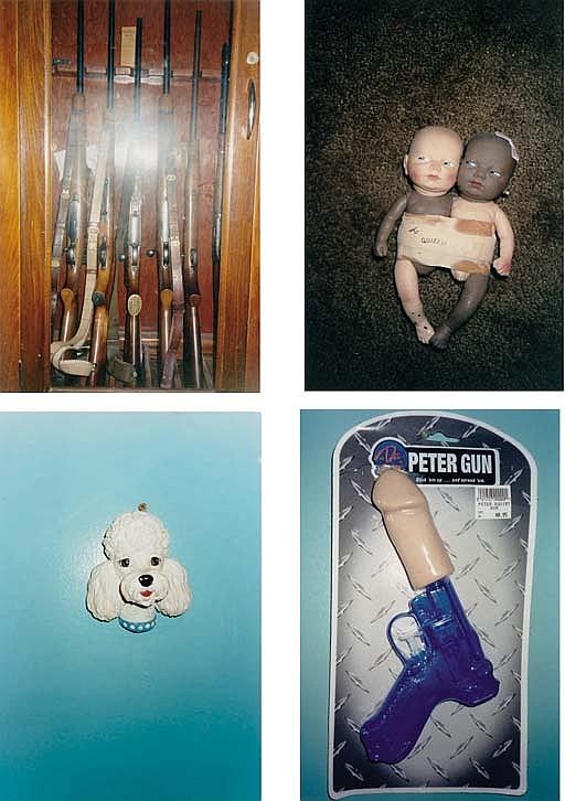 Untitled (Guns, Dolls, Dog, Peter Gun), 1994