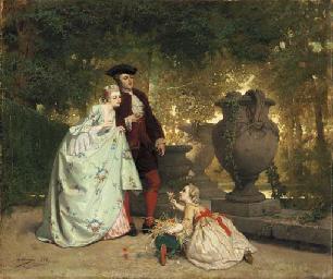 Auguste Serrure (Belgian, 1810-1903)