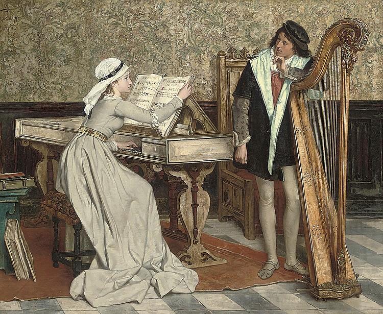 Victor Lagye (Belgian, 1825-1896)