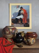 William Acheff (B. 1947) - Grandfather's Pots