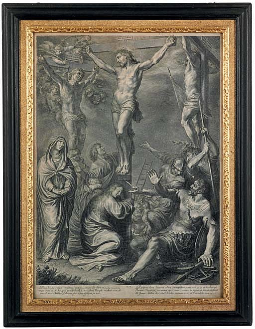 The crucifixion; and descent from the Cross