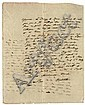 HUMBOLDT, Alexander von (1769-1859). Autograph letter signed ('Humboldt') to an unidentified recipient (presumably in Cuba, possibly Juan de la Cuesta), Cartagena [modern Colombia], 30 March 1801, in French (some phrases in Spanish), 2 pages,, Alexander