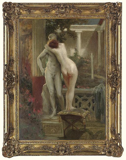 Hermes and Aphrodite