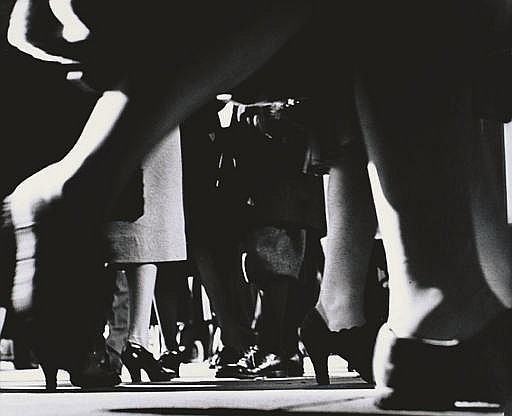 Running Legs, NYC, 42nd Street, c. 1940-41