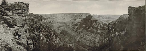 Grand Canyon of the Colorado Panorama, c. 1899-1902