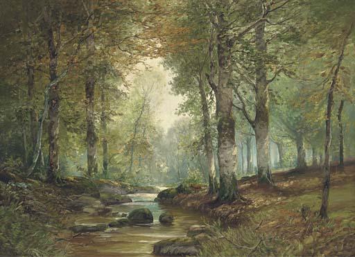 Raphael Oskar Unverdross (German, b. 1873)