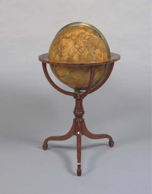 CARY, John (1754-1835) and William CARY (1759-1825). <I>Cary's New Terrestrial Globe, exhibiting</I>