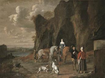 Ludolf de Jongh (Overschie 1616-1679 Hillegersberg) and Assistant