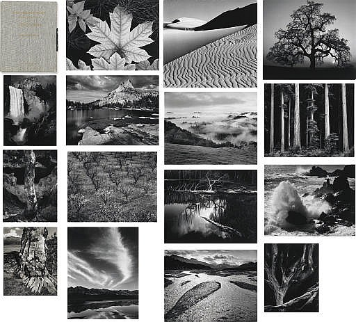Portfolio Four: What Majestic Word. In Memory of Russell Varian [1898-1959] by Ansel Adams