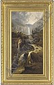 Afternoon at the waterfall , William (1853) Pitt, Click for value