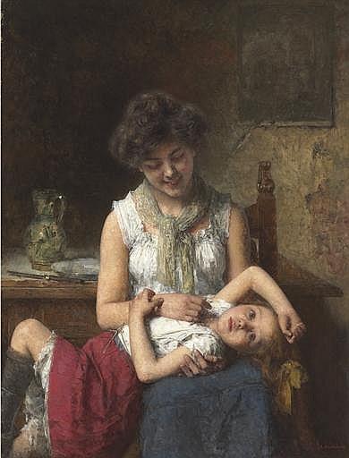 Aleksei Alexeiewitsch Harlamoff (Russian, 1840-1922)