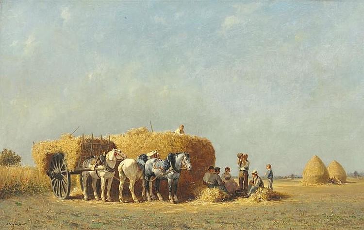 Jules-Jacques Veyrassat (French, 1828-1893)