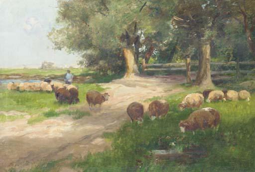 Johann Daniel Holz (German, 1867-1945)