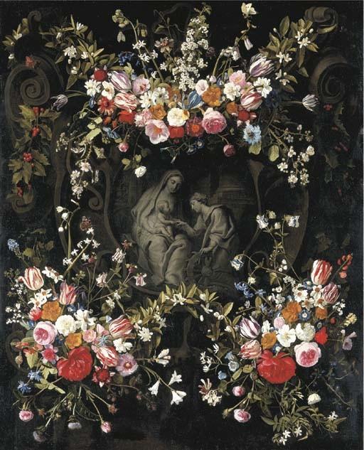Daniel Seghers (Antwerp 1590-1661) and Erasmus Quellinus II (Antwerp 1607-1678)