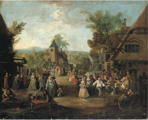 Egbert van Heemskerk (Haarlem c. 1634-1704 London)