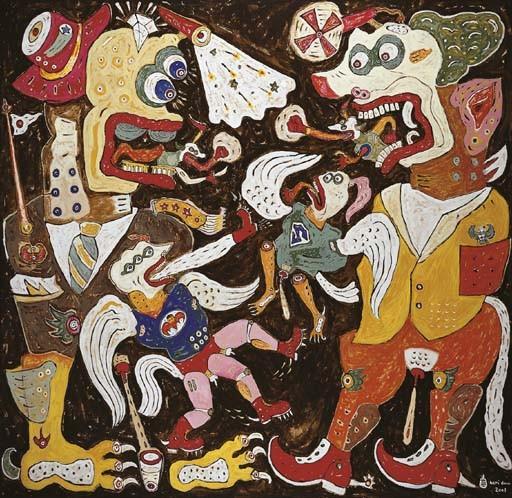 <B>HERI DONO</B> (b. Indonesia 1960)