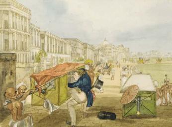 Sir Charles D'Oyly, 7th Bt. (1781-1845)