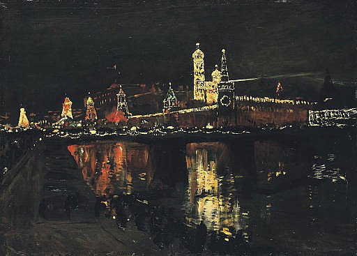 The Illumination of the Kremlin