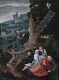 The Agony in the Garden , Joachim Patenier, Click for value