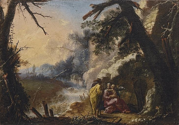 The Rest on the Flight to Egypt