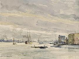 Charles William Wyllie, R.O.I. (London 1853-1923)