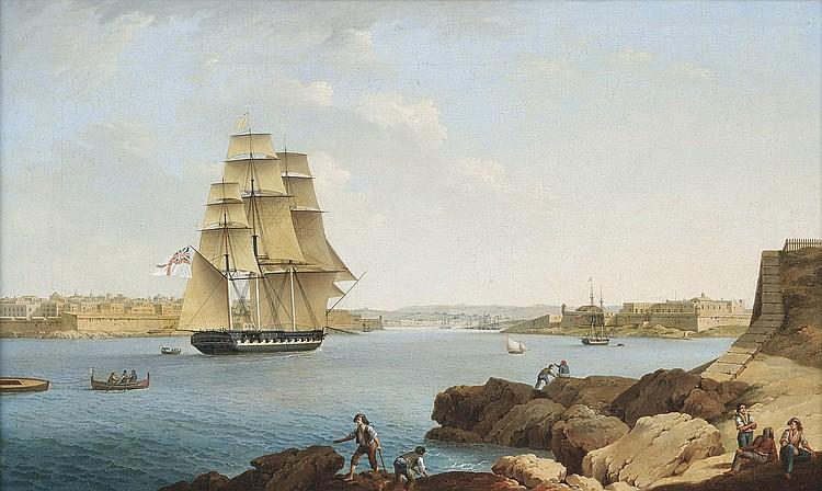 Anton Schranz (Ochsenhausen 1769-1839 Malta)